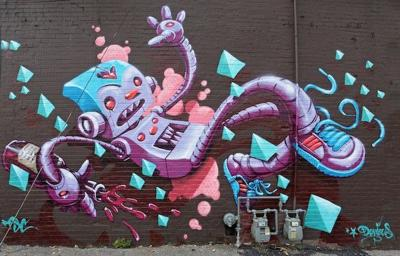 Subsurface Graffiti Expo Adds Five Walls