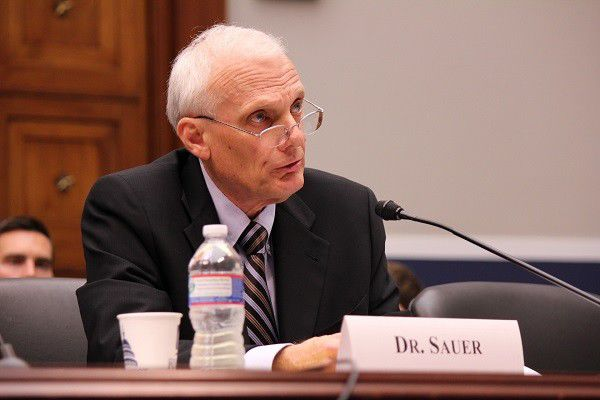 Sauer visits Congress on military ed issues