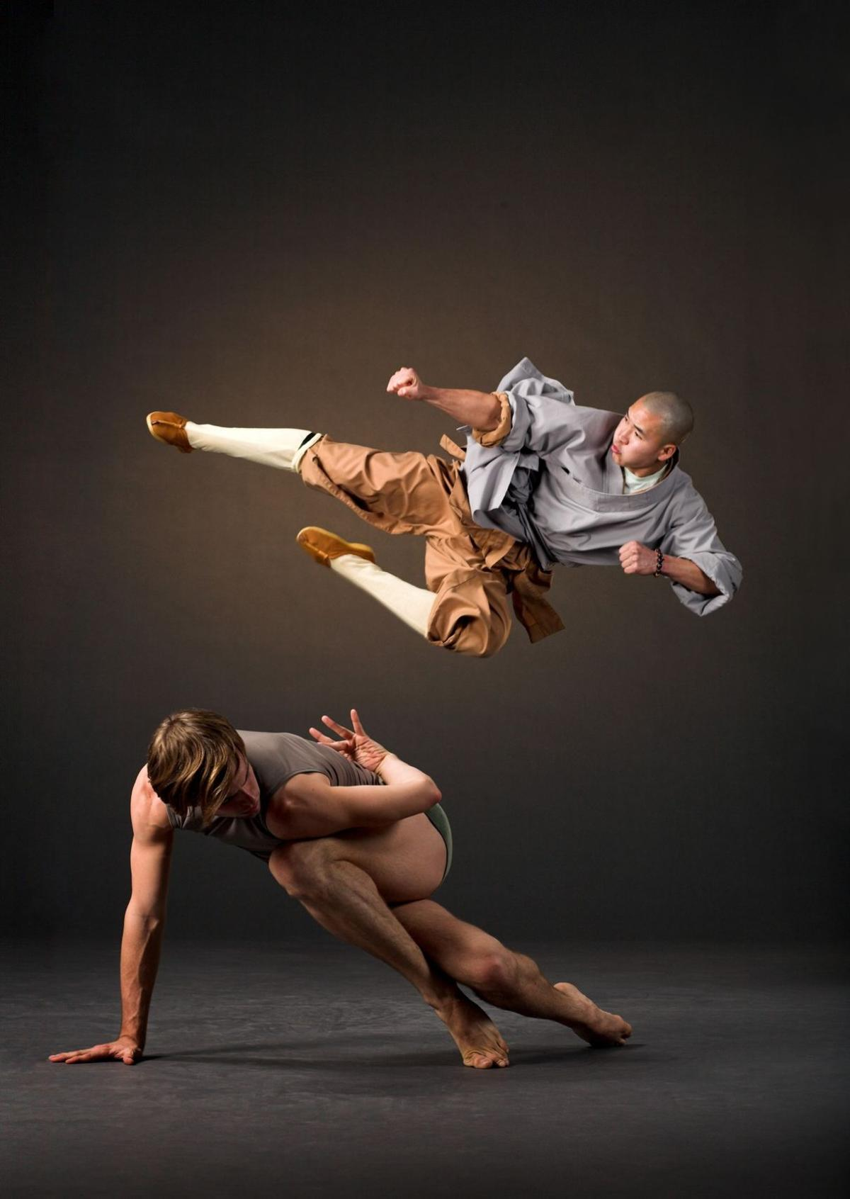 LINES Ballet and the Shaolin Monks