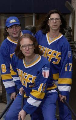 The Hanson Brothers do the Ice