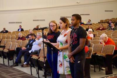 Charter Schools USA finds support for charter applications as critics stay silent at public hearing
