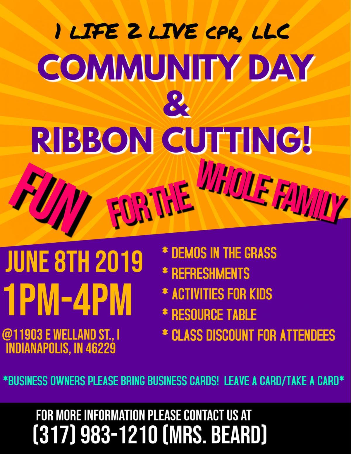 Community Day Flyer