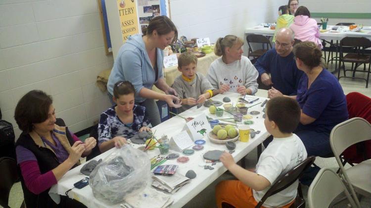 Family Fun in Clay