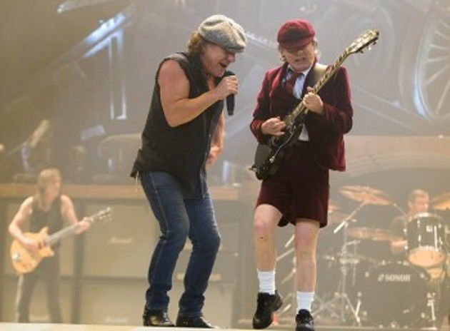 AC/DC Performs at Conseco Fieldhouse in Indianapolis