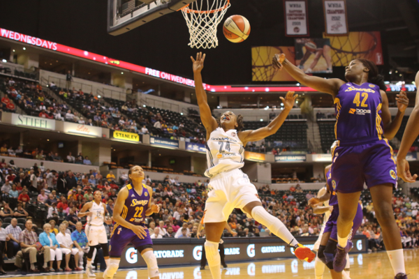 Fever fall to Sparks