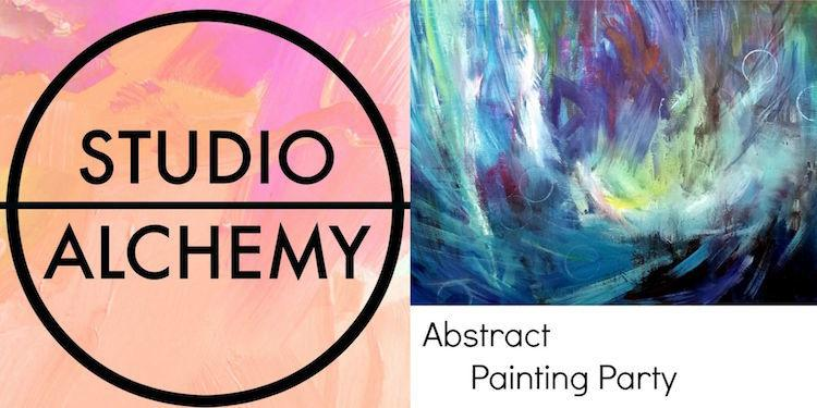 Studio Alchemy Abstract Painting Party