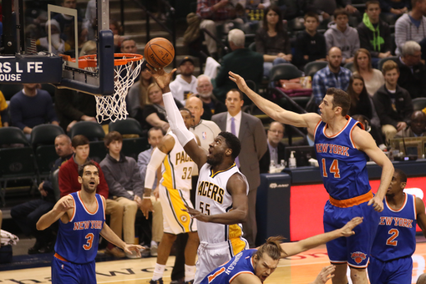 Pacers V. Knicks