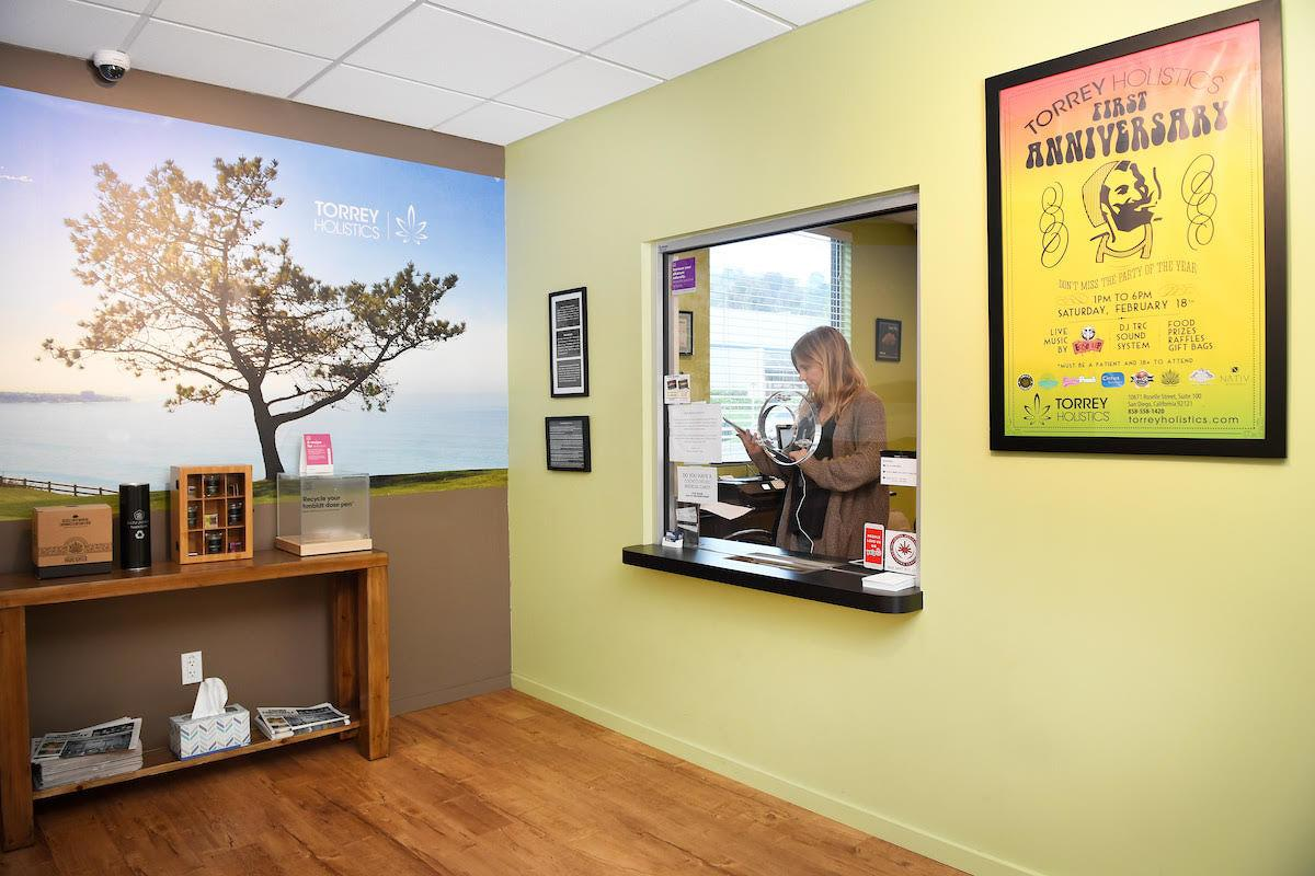 Torrey Holistics waiting room