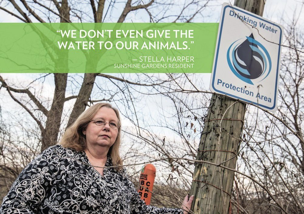 How Indy's coal ash ponds can pollute neighborhood wells