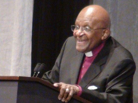 Tutu blesses new peace studies center
