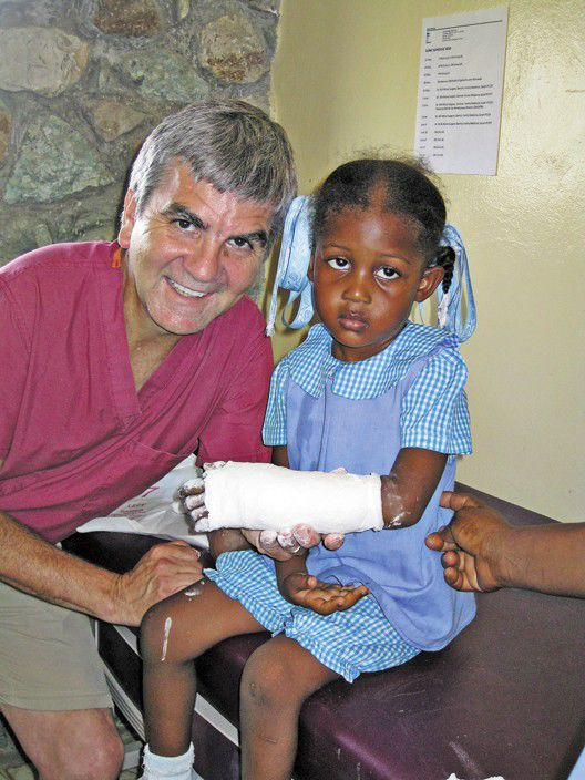 Local doctors help quake survivors in Haiti