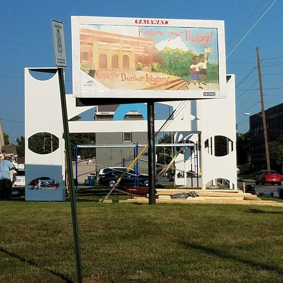 PreEnact Indy billboard