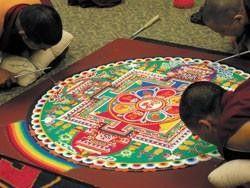 Monks and mandalas