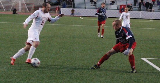 Slideshow: Indy Eleven v. IU Men's Soccer