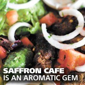 Saffron Cafe: Sensual delights via Morocco