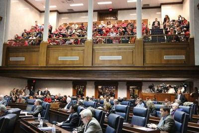 Video from Senate Rules HJR-3 hearing