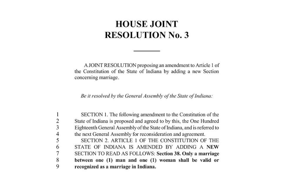 Senate Rules Committee passes HJR 3