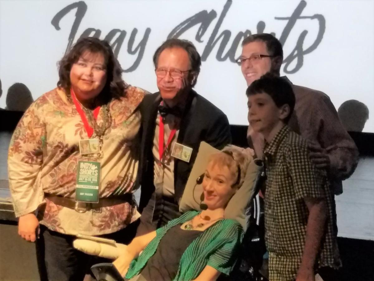 Jenni Berebitsky with family and friends