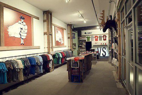 DIY apparel shop OUTPOST opens doors