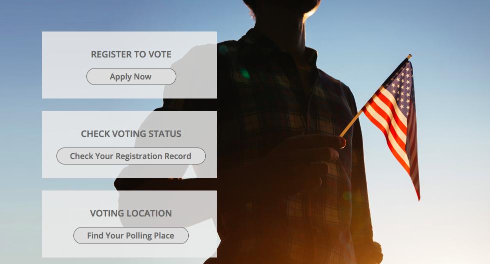 Indiana voters website