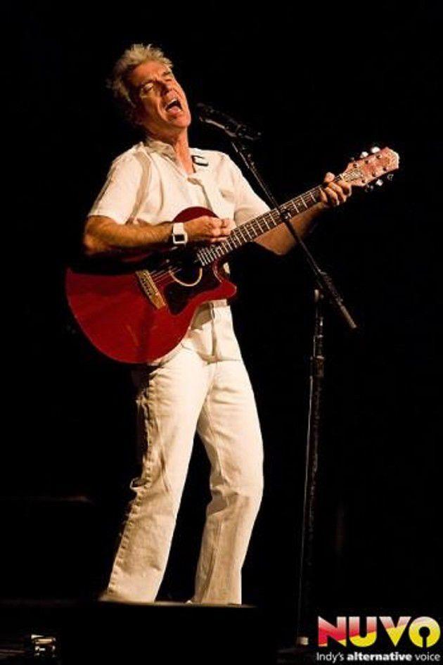 David Byrne Performs at Clowes Memorial Hall