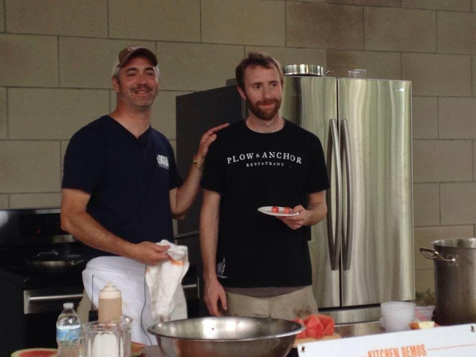 Hawkins, Baker and Stum Take on World Food Championships
