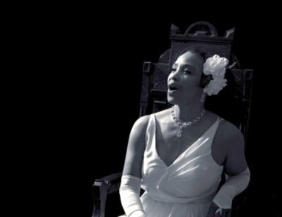 Monica Cantrell as Billie Holiday