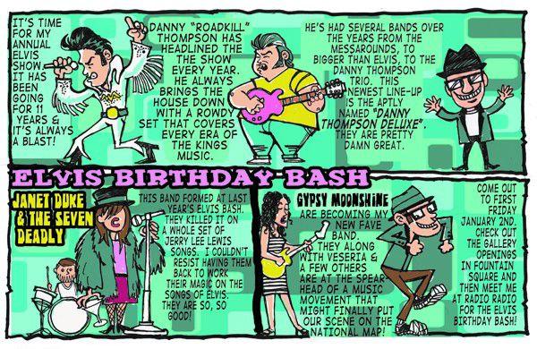Barfly: Elvis Birthday Bash