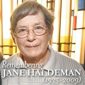 Jane Haldeman: A life dedicated to peace