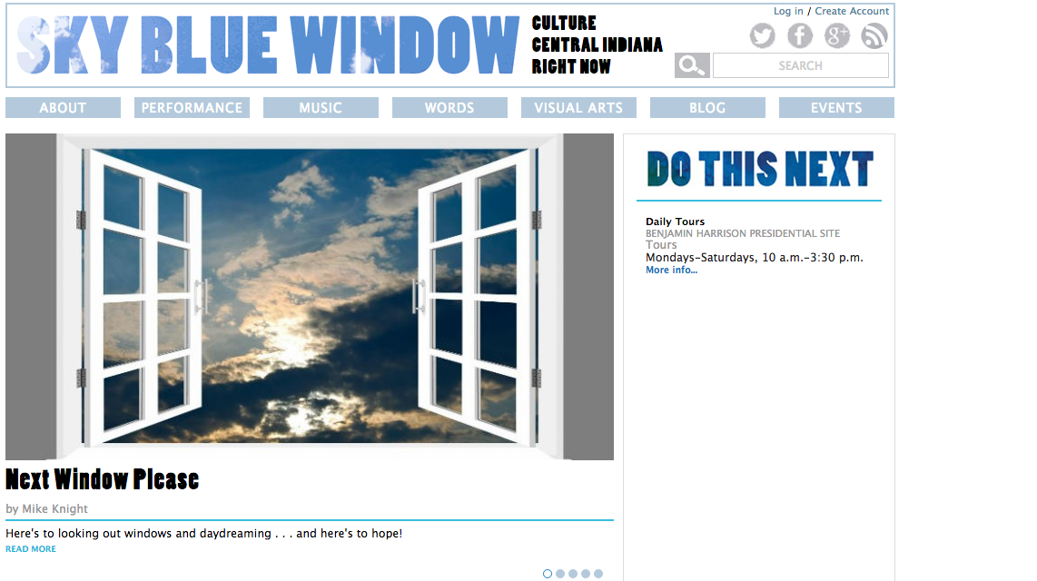 Sky Blue Window is closing