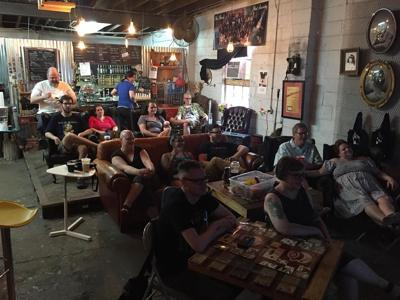 Coal Yard Coffee audience in May 2018
