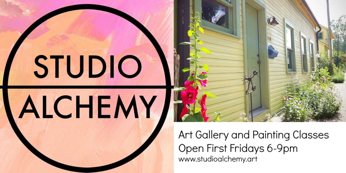 Studio Alchemy is Open First Fridays 6-9pm