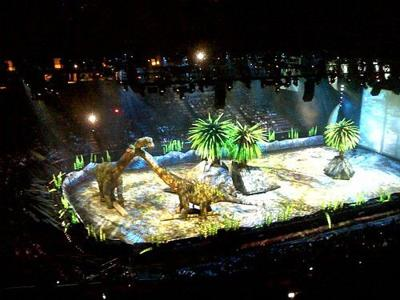 'Walking With Dinosaurs' opens Wednesday