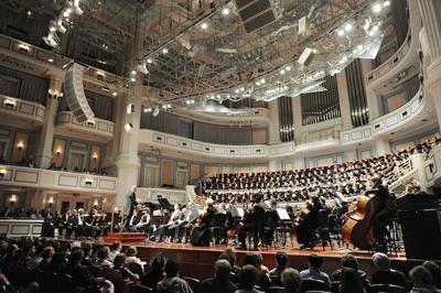 Indianapolis Symphonic Choir's 2014-15 season