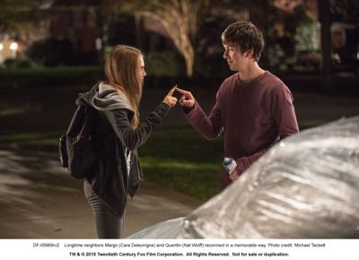 Paper Towns Interview with John Green, Nat Wolff and Halston Sage