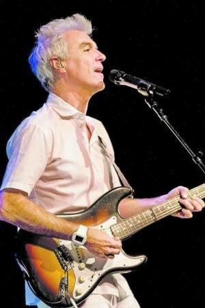 David Byrne at Clowes Hall, Oct. 25