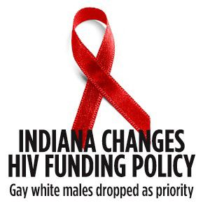 Indiana changes HIV funding policy
