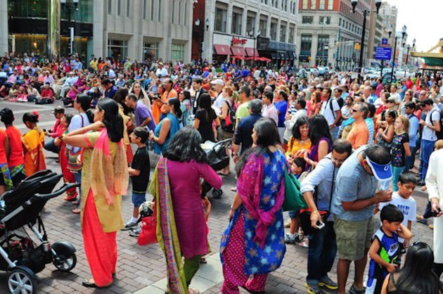 Slideshow:  3rd annual India Day Festival on Monument Circle