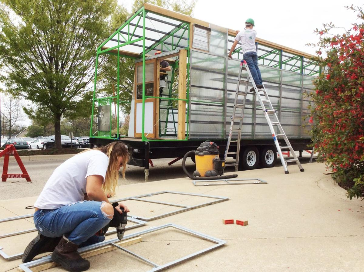 Butler, Ball State tackle urban farming with mobile greenhouse concept