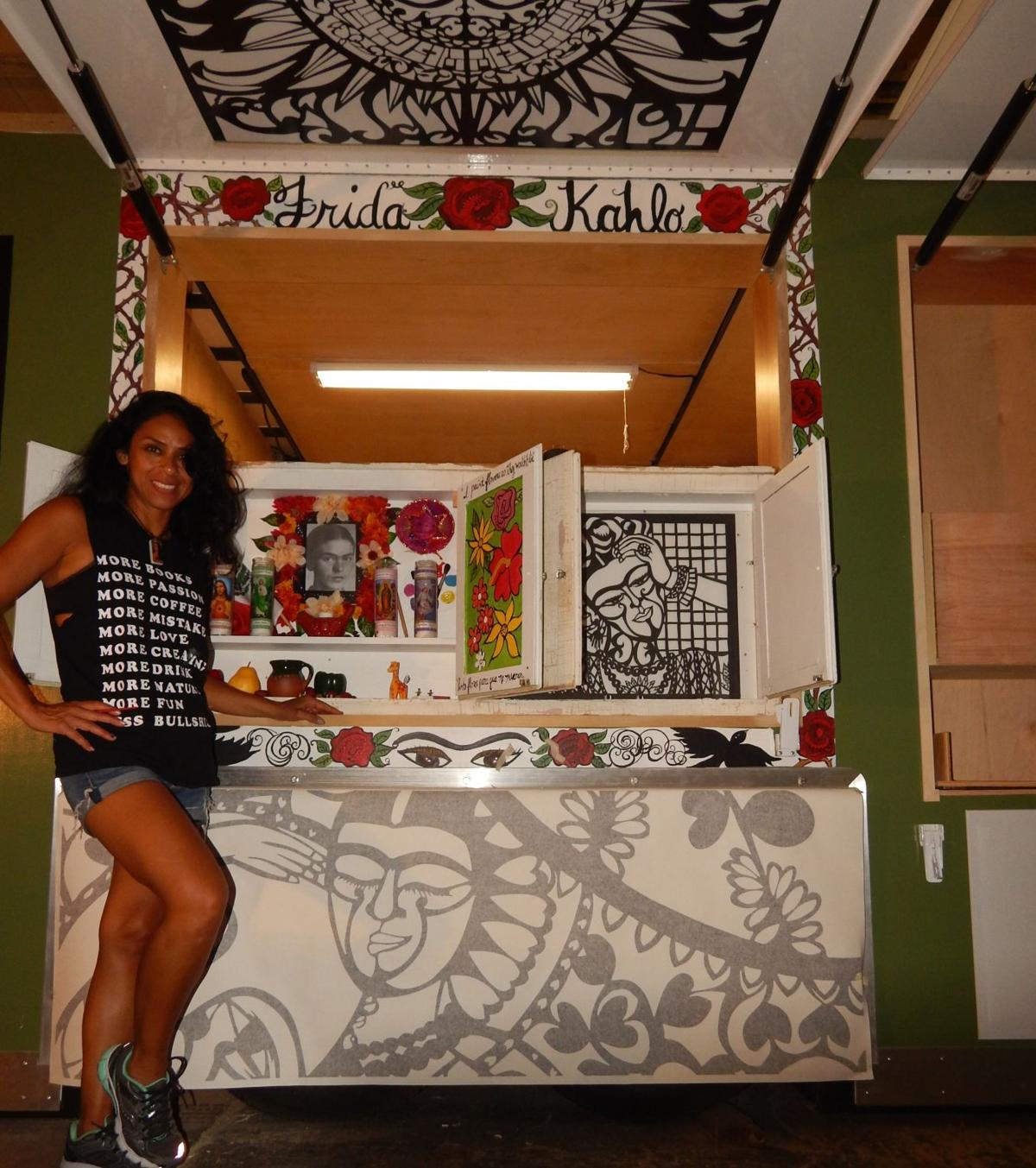 The mobile art of papel picado is making its debut downtown