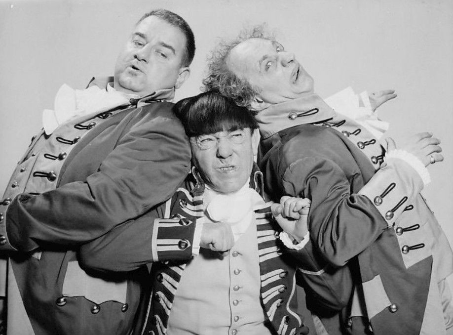 Indiana politics and the Three Stooges