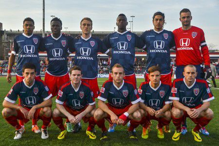 Slideshow: Indy Eleven's debut match