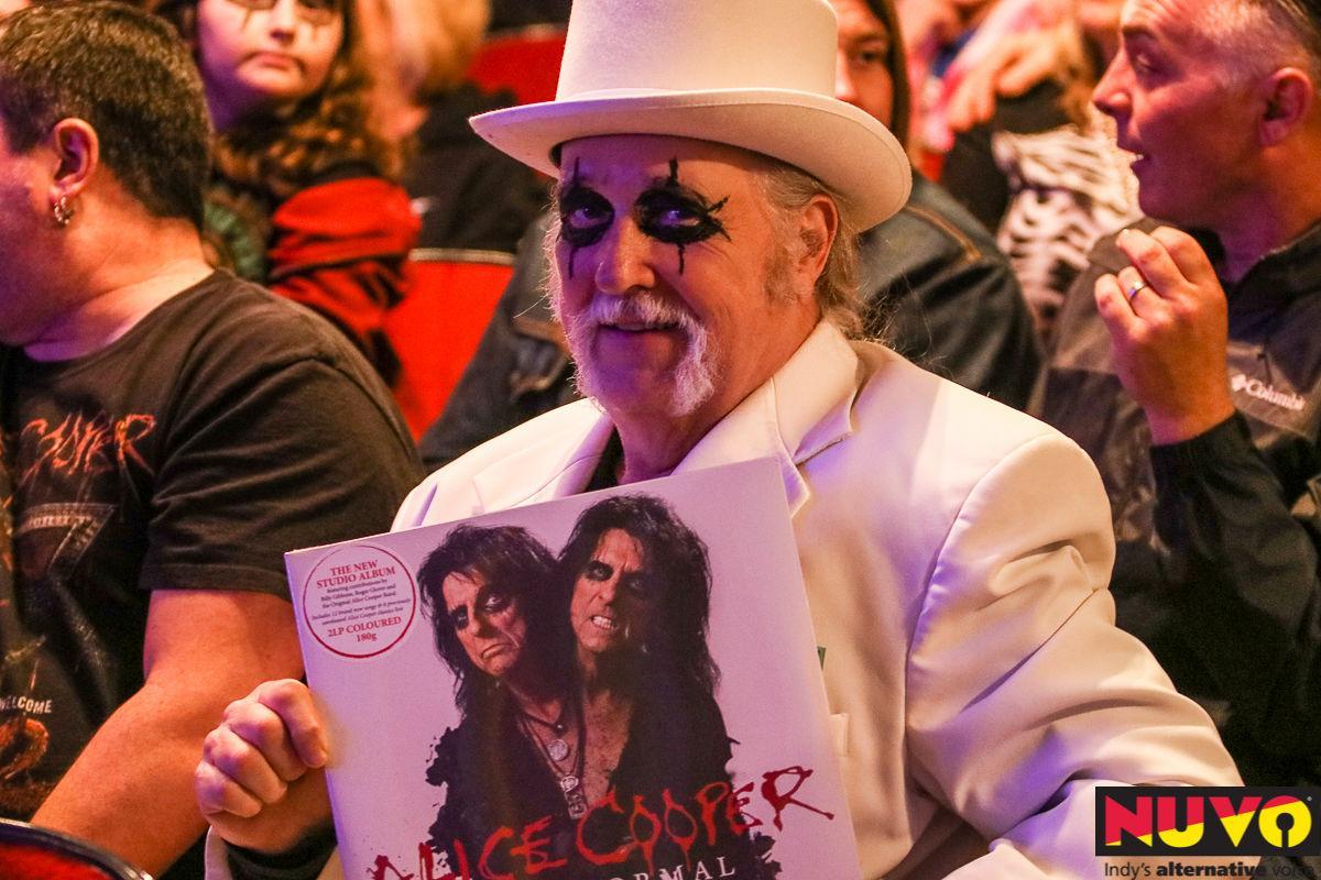 Alice Cooper at the Murat Theatre