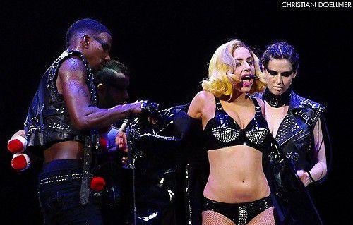 Lady Gaga at Conseco, set by set