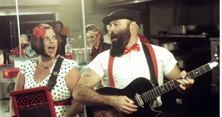 New vid from The Reverend Peyton's Big Damn Band