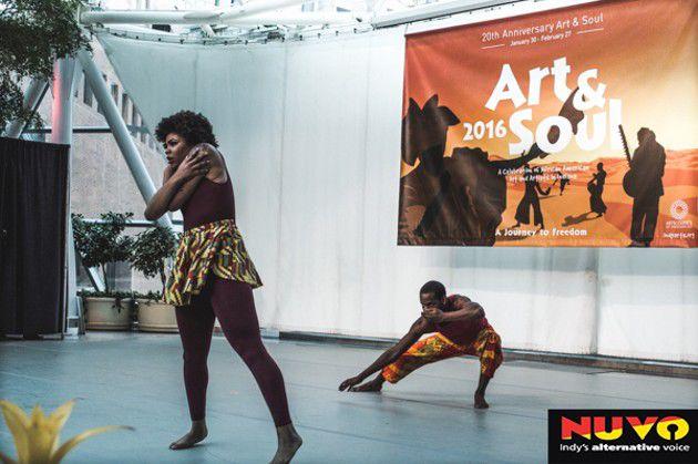 "Art & Soul 2016 Presents ""Black Dance Matters"""