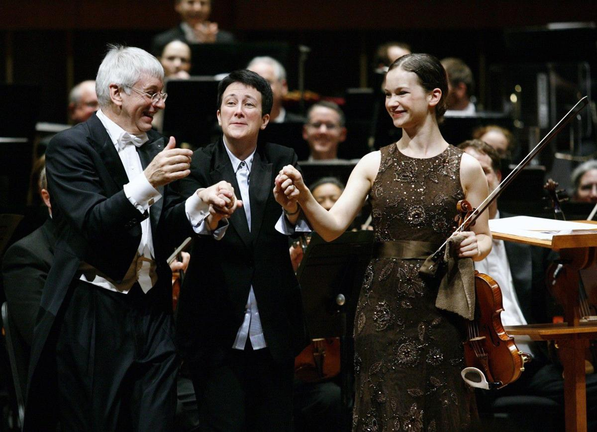ISO with Hilary Hahn