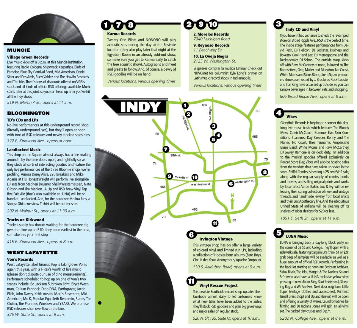 Mapping Record Store Day