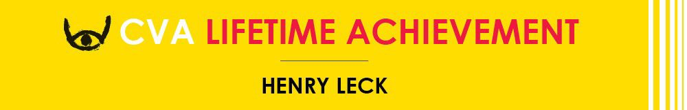 CVA Lifetime Achievement Award: Henry Leck