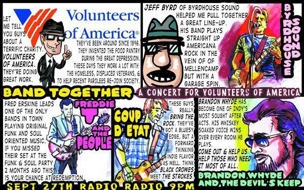 Barfly: Volunteers of America benefit